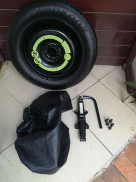 Brand New Mercedes GLA 220d 17 inch Original Spare Wheel kit