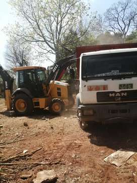 RUBBLE REMOVAL AND TLB HIRE