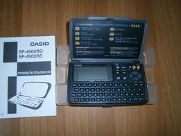 Электронный дневник SF-4900RS Casio