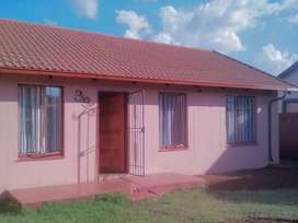 Three beds in Protea City, R4500