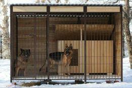 Вольеры и будки для собак в наличии и под заказ Киев. Любой размер