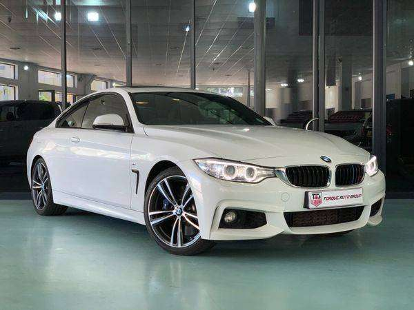 2016 BMW 4 Series 440i Coupe M Sport Auto