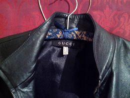 Куртка женская Gucci из натуральной кожи