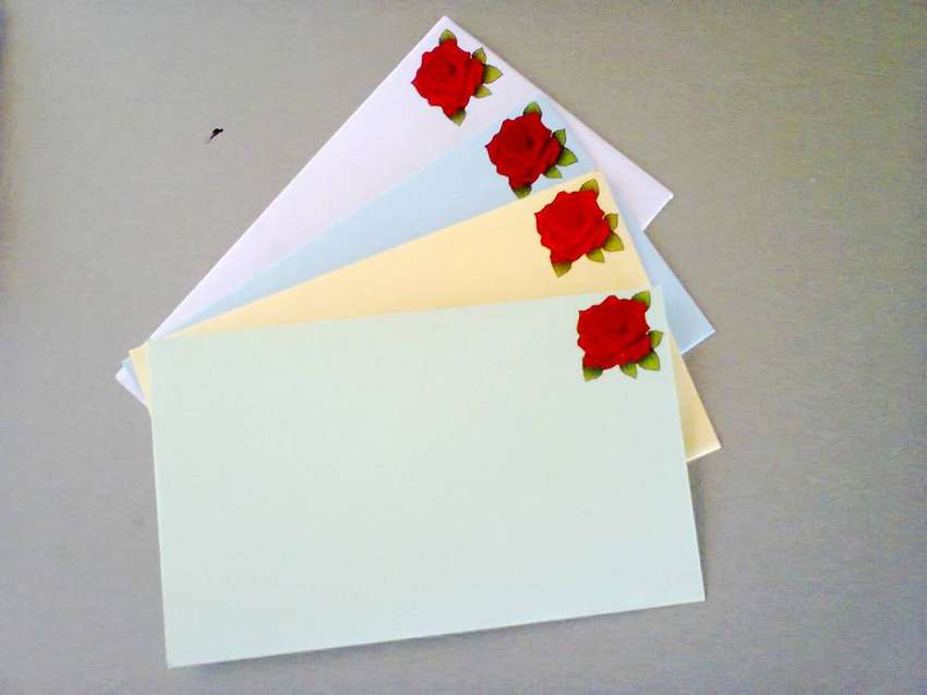 Envelopes and Invitations tailor made 0
