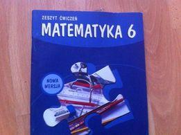 Matematyka 6 zeszyt ćwiczeń geometria GWO