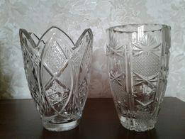 Пролам хрустальные вазы ЧССР