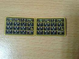 Продам наклейки-клавиатуру для наручных часов Casio DBC-610,1985 г.