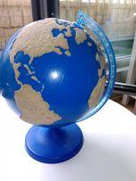 Dotykowy globus Montessori woda i lądy