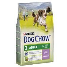 Purina Dog Chow Adult z jagnięciną dla psów dorosłych Pruszków - image 1