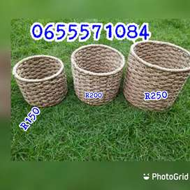 Picnic, laundry and multipurpose baskets