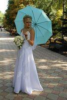 Платье свадебное высокой 48-50р
