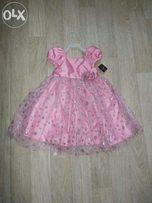 Новое нарядное платье для девочки 18-24м.
