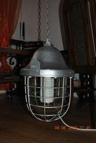 Lampa przemysłowa aluminiowa 1968 rok