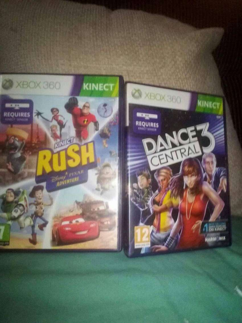 4x ĶINECT Xbox GAMES 0