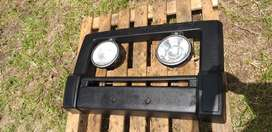 Land rover discovery nudge bar (original) with large spot lights