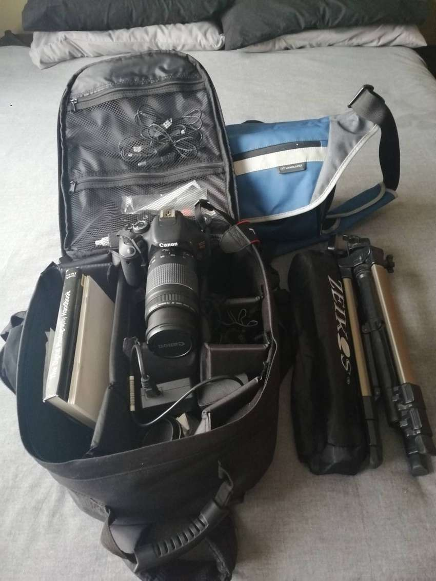CANON EOS REBEL T3i TOTAL PACKAGE