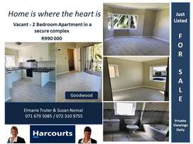 Newly Renovated two bedroom apartment !