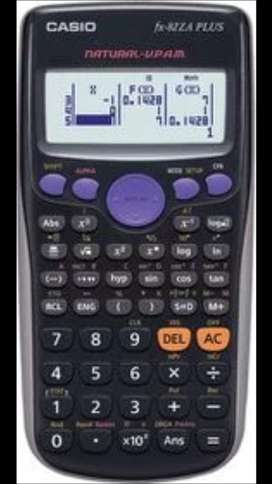 LOOKING FOR fx 82 za plus calculatorlator
