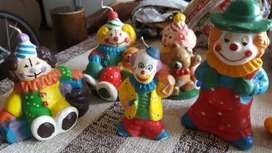 Unique clown candles and other ornaments