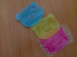 Мыльница, МЫЛЬНИЦЫ - МИШКИ, подставка для мыла в виде мишек