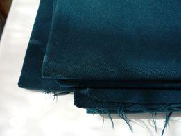 Отрез военной ткани (шерсть, цвет морской волны)