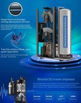 Rewolucyjna pompa ciepła- inwerter 3-12,4 kW Powietrze-Woda do -25 sto