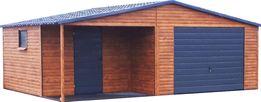 Nowoczesne Garaże Drewnopodobne Wysoka Jakość!