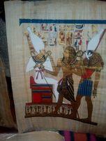 Египетские папирусы 44*33 см 17 шт по 250 грн/шт