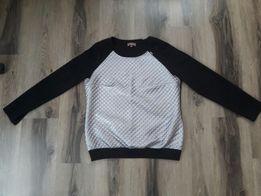 Bluzka Czarno-Srebna L