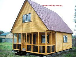Дачные домики на любое время года