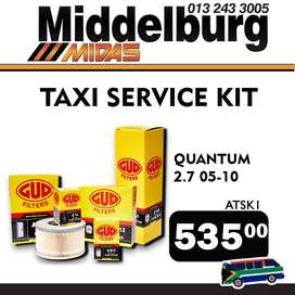 Taxi Service Kit ONLY R 535!