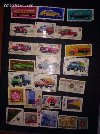 коллекция лист марок