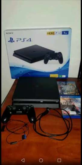 Playstation 4 with great games