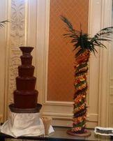 Шоколадный фонтан прокат на вечер. Выездное обслуживание