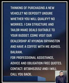 We sell all brands of vehicles