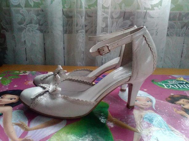 Sprzedam buty ślubne skórzane firmy RYLKO! Przeworsk - image 2
