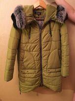 Пальто-куртка с мехом