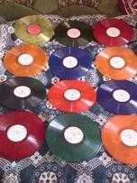Продам ЦВЕТНЫЕ виниловые пластинки! Цветной винил для декора 30см.