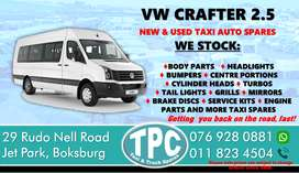 VW Crafter 2.5 New and Used Taxi Spares