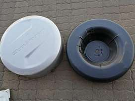 Ford ecosport/ ford titnium spare wheel cover