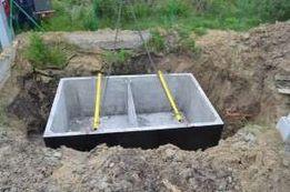 Szambo betonowe o pojemności 2m3, 4m3, 5m3, 6m3, 7m3, 8m3, 9m3, 10m3,