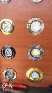 Down lighters and wall brackets 0