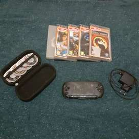 Psp street with 4GB memory card