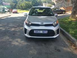 2018 Kia picanto with an engine capacity of 1,2