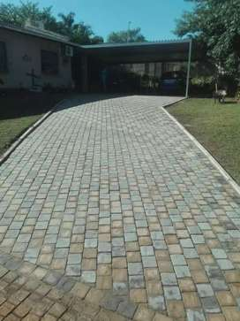 Home design quality brick paving installation and repairs