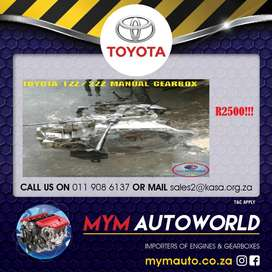 MYM IMPORTER OF USED TOYOTA 1ZZ/3ZZ MANUAL GEARBOXES