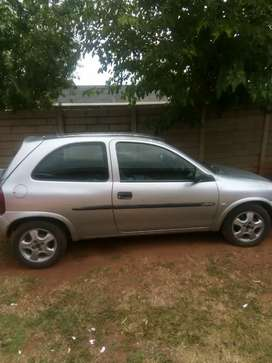 Selling my Opel Corsa 1.4is 2002 model. Start and go. Fair condition.
