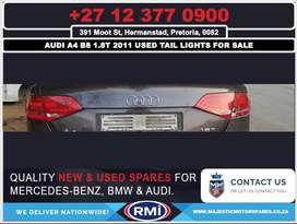 Audi A4 B8 1.8T used tail lights for sale