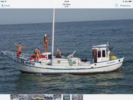 Моторно- парусная яхта, длина- 11м. ширина-3,2м. в Одессе