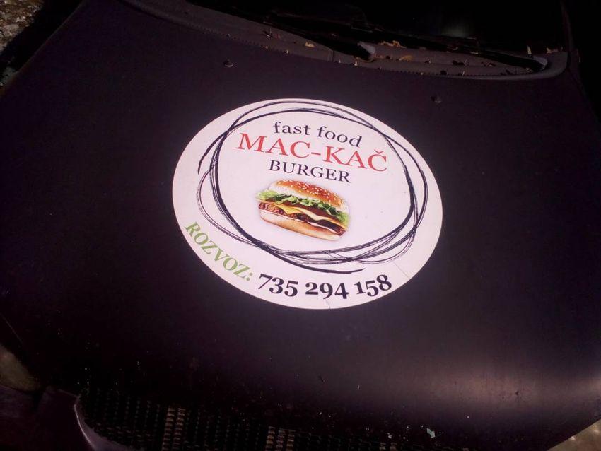 Přenechám Mac-Kač burger 0